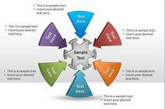 free powerpoint example diagram round circular