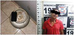NOBRES: Homem furta botijão de gás e acaba preso pela PM