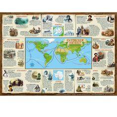 """GW-Poster """"Entdecker der Welt"""""""