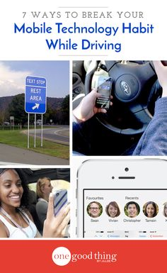 After the tough things I've had to overcome in my life...I can't even imagine losing it all for a few words typed on a 3-inch screen. Check out these practical steps for breaking the mobile technology habit when you're behind the wheel.