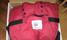 EUC Ergobaby Ergo Baby Carrier Red Sport (Great for Plus-sized Parents)…