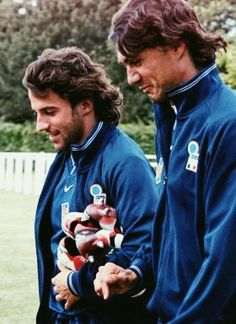 Del Piero and Maldini.