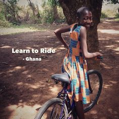 The Learn to Ride - Ghana story by Clara Mathews! Check it out to learn the importance of bikes to young women in Ghana and what Clara and the Village Bicycle Project are doing to help. 10% of all sales from the Cycle Like a Girl Shop this week will be going to VBP to help support their important programs .  Read the story at www.cyclelikeagirl.com  #learntoride #ghana #villagebikeproject #womenscycling #cycling #mtb #cyclocross #track #roadbike