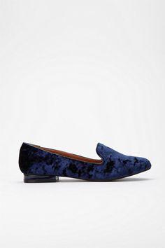 cooperative velvet loafer $34