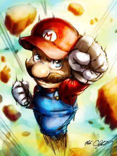 you know the rest by Mark-Clark-II on DeviantArt Mario Fan Art, Super Mario Art, Mario Tattoo, Mario And Luigi, Pokemon, Video Game Characters, Video Game Art, Nintendo, Anime