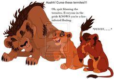 Kovu and his siblings