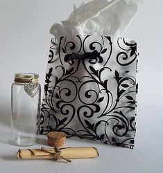 Custom Message in a Bottle Romantic Gifts for Women by Zedezign
