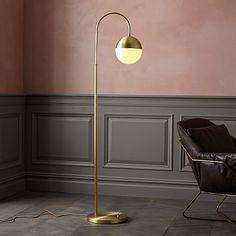 Rejuvenation Cedar + Moss Floor Lamp #westelm $449 (also in oil-rubbed bronze)
