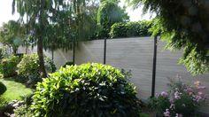 7,2 Lfm. WPC Sichtschutzzaun, 180 x 180 cm Gartenzaun Windschutz Zaun Colormix | eBay