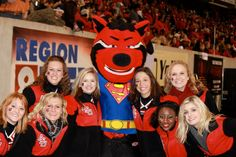 Arkansas State University A-Team year 1, with Howl! 2012