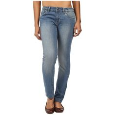 Mountain Khakis Genevieve Skinny Jeans Classic Fit (Light Wash)... ($60