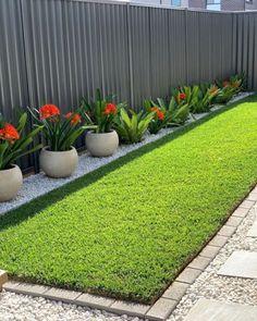 Garden Yard Ideas, Backyard Garden Design, Small Garden Design, Easy Small Garden Ideas, Garden Deco, Backyard Designs, Patio Ideas, Front Garden Landscape, Small Front Yard Landscaping