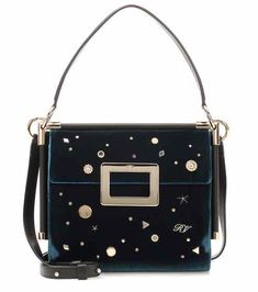 Miss Viv' Carré Small velvet shoulder bag | Roger Vivier