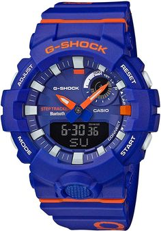 Looking for Men's Casio G-Shock Urban Trainer Blue Orange Resin Watch ? Check out our picks for the Men's Casio G-Shock Urban Trainer Blue Orange Resin Watch from the popular stores - all in one. G Shock Watches, Sport Watches, Cool Watches, Watches For Men, Men's Watches, Luxury Watches, Casio G-shock, Casio Watch, Bluetooth Watch