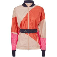 5fb9502713f8 Adidas by Stella McCartney Kite Print Running Jacket (1735 MAD) ❤ liked on  Polyvore