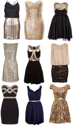 What to wear on New Year's Eve! #fashion