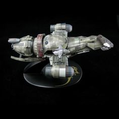 "I found another model ship to add to my collection. It's ""Serenity"" from firefly- as if I had to tell you."