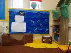 Class Two's reading area