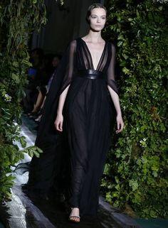 O inverno 2015 couture da Valentino Foto: FRANCOIS GUILLOT / AFP
