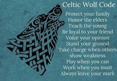 Celtic Wolf Code