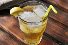 At-home recipe for Panera's iced green tea!