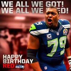 Big Red doesn't have Pinterest. He doesn't need Pinterest. But that won't stop us from wishing our captain a happy birthday.  Do you know why we call him Red? http://shwks.com/64fc