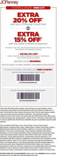 b2fdba5f01 JCPenney coupon   JCPenney promo code from The Coupons App. Extra off at  JCPenney