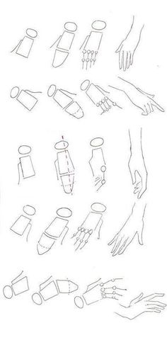Manga Drawing Techniques Learn the logic of drawing hands and apply it to different view angles in your fashion sketches and illustrations Manga Drawing, Drawing Sketches, Cool Drawings, Drawing Hands, Drawing Tips, Drawing Tutorials, Drawing Ideas, Anatomy Drawing, Sketching