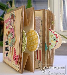 #papercraft #scrapbook #minialbum Paper bag mini album