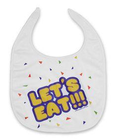 FNAF Chica 'Let's Eat' Costume Bib - Adult