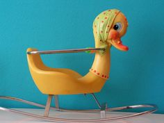 RESERVED for WANDERINGFAWN Vintage Female Duck by Vintouchables
