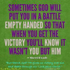 Words of Wisdom #Faith