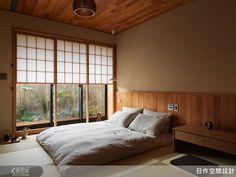 日式禪風:將和紙門「雪見障子」融入設計,創造道地的日式風格,與陽光產生日式設計獨有的「曖昧」美感。