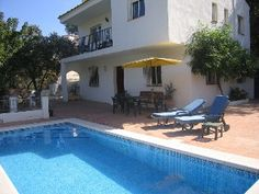 Las Encinas : Secluded 3 bedroom villa with pool set in beautiful countryside   HomeAway 1,750