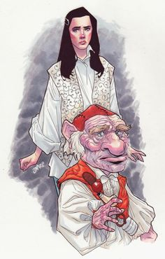 Labyrinth. You Remind me of The Babe… by Jose Jaro.