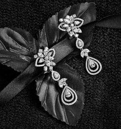 from Jewellery Historian, issue Real Diamond Earrings, Wing Earrings, Fine Jewelry, Fancy Jewellery, Designer Earrings, Earrings Handmade, Wedding Jewelry, Gemstone Jewelry, Jewelery