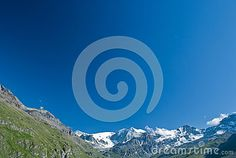 Its very beautiful to see the contrast between the blue sky of a sunny day and the white mountain peaks of the alps. Alps, Sunny Days, Contrast, Sky, Mountains, Nature, Travel, Beautiful, Blue Skies