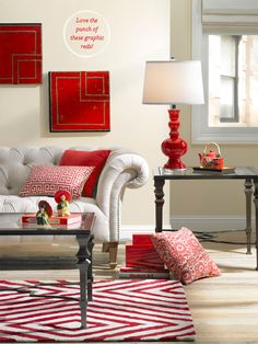 40 best red accent living rooms images living room accents rh pinterest com