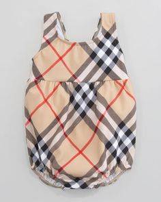 Check Swimsuit, New Classic by Burberry at Neiman Marcus.