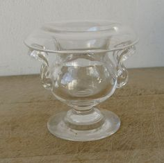 Early AMERICAN GLASS SALT Classical Urn Shaped by OnceUpnTym