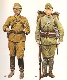 THE  PACIFIC  WAR  --------------------------------                                  Nº 307.- Private  2nd Class. Japanese Army, 1937....