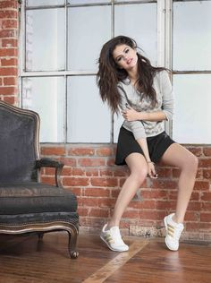 Selena Gomez Adidas Neo Winter Shoot