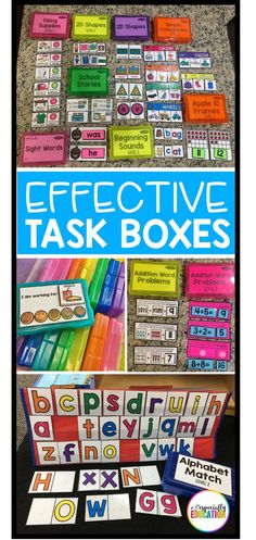 FAQ: Task Boxes Setting up an effective independent work station is a game changer in the special education classroom! Task Boxes Setting up an effective independent work station is a game changer in the special education classroom! Life Skills Classroom, Autism Classroom, Special Education Classroom, Elementary Education, Future Classroom, Special Education Activities, Texas Education, Teacher Resources, Art Education