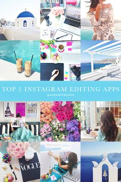 Annawithlove Photography: My Top 5 Instagram Editing Apps