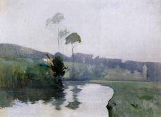 POUL WEBB ART BLOG: John Henry Twachtman - part 1