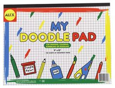 These 9 by 12 inches pad is light in weight hence quite handy for kids. It is used by kids for quick sketching or doodling hence help kids improve their creativity fast and efficiently. The Alex Toys My Doodle Pad is a compact drawing pad and great for travel since it comes in smaller sizes which are easy to carry in a backpack or carry-on bag. The Alex Toys My Doodle Pad is great for pencils, markers, paints and crayons.