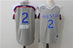 eb9de224467 #Cavaliers #2 #Kyrie #Irving Gray 2017 All Star Stitched NBA Jersey #