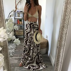Sahara Wrap Maxi Skirt
