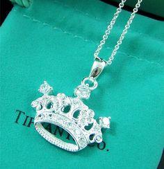 Tiffany. Colgante corona.