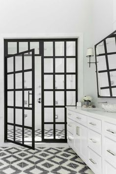 True Divided-Light Swing Door – Coastal Shower Doors